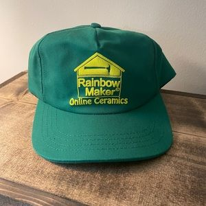 Online Ceramics - Rainbow Maker hat. NWOT